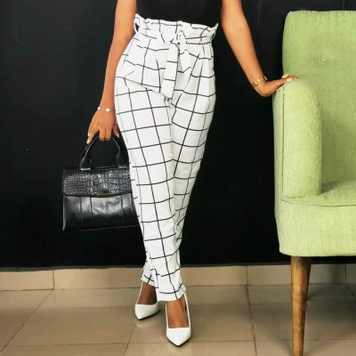 Womens White Trousers