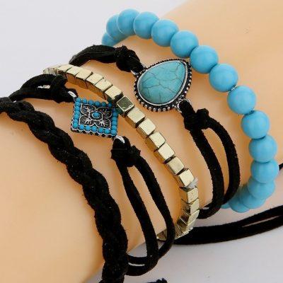 Cloth Fashion Geometric bracelet – Sojoee.com