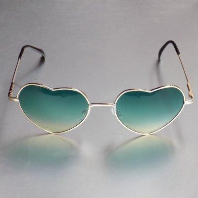 Love Shaped Alloy Fashion glasses - Sojoee.com