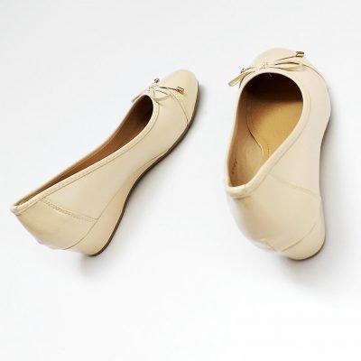 Comfy Ballet Style Wedge Heel - Sojoee.com