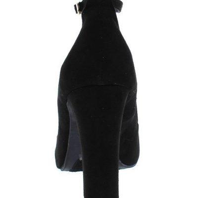 womens black heel sandals