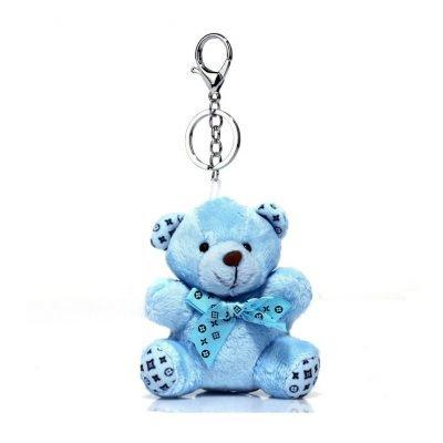 Blue Teddy Bear Bag Charms - Sojoee.com