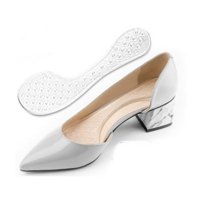 Soft arch support shoe pad