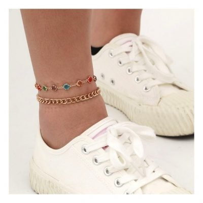 Affordable chain anklets for women