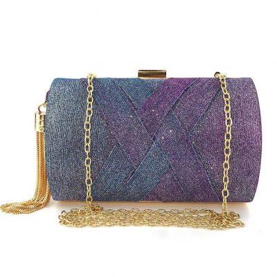 purple womens wedding purses