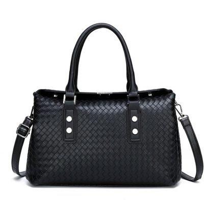 Womens Black Big Handbag