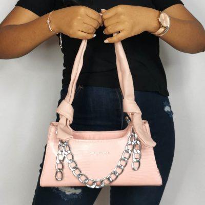 Light Pink Mini Handbag for women