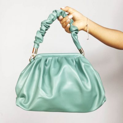 Runched Hand Ladies Outing Bag