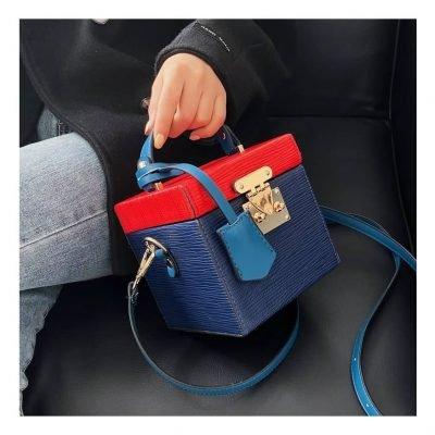 blue mini handbags for women