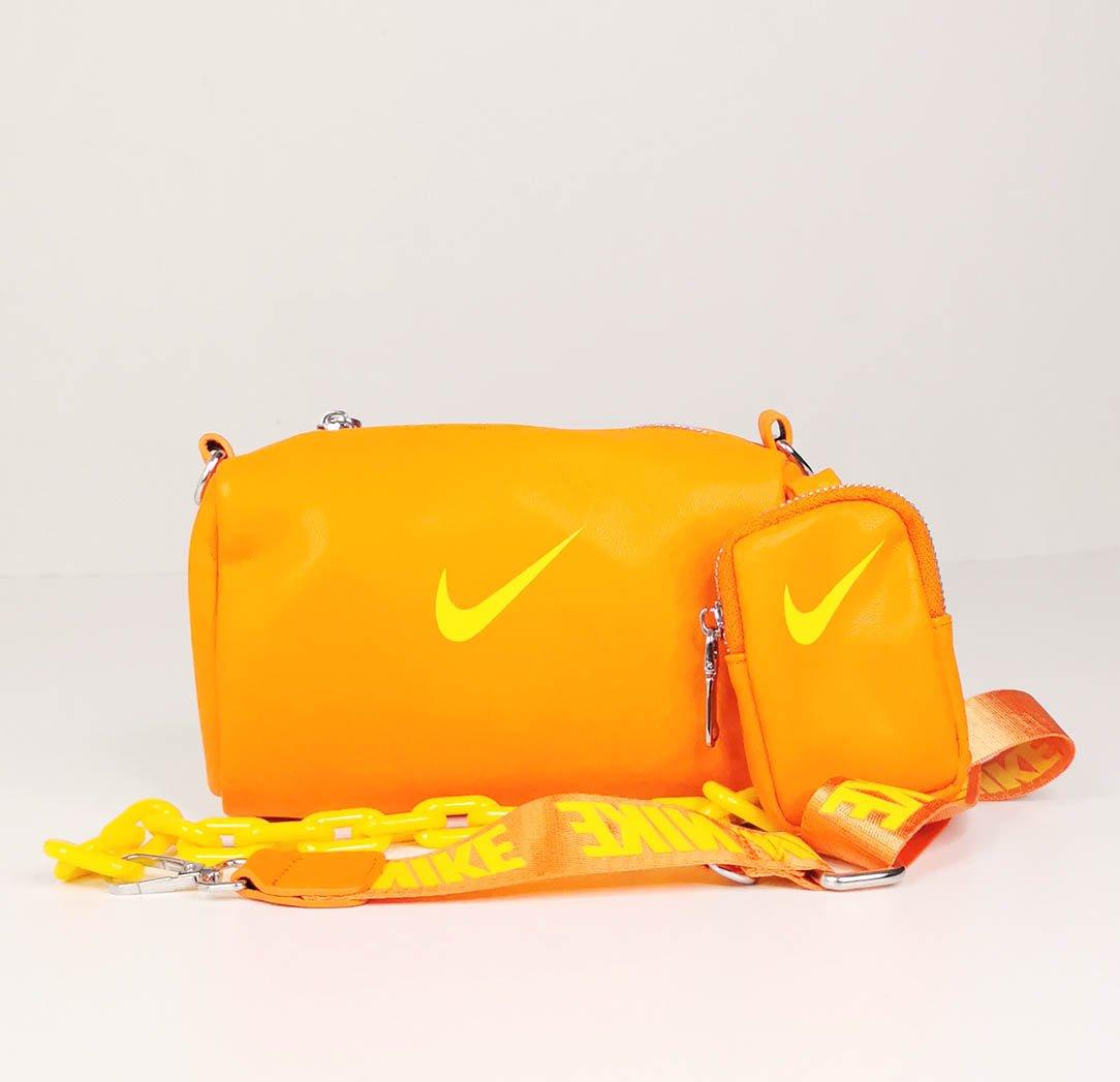Orange Nike Unisex Shoulder Bag