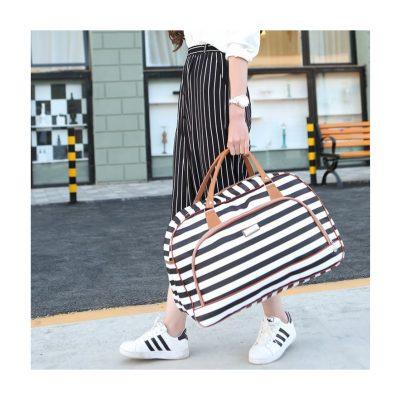 Stripe Weekend Travel Bag
