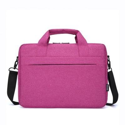 Business Professional Unisex Pink Laptop Bag