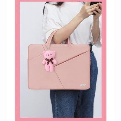 Multifunctional Ladies fancy laptop bag