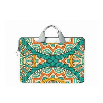 Abstract Print Ladies fancy laptop bag