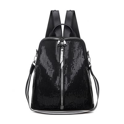 Sequined imitation Mini Womens Backpack Bags