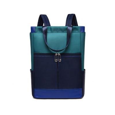 Oxford cloth multipurpose unisex Blue backpack