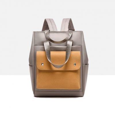 Stylish Travel Khaki backpack