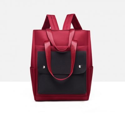 Stylish Travel red backpack