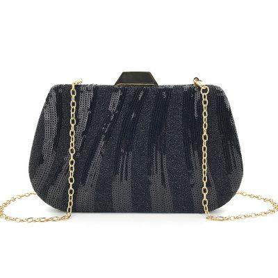 Sequin Glittered occasion clutch purse