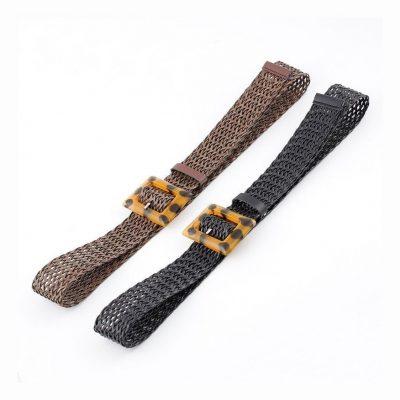 Women's woven belts