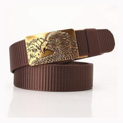 Women big buckle belt