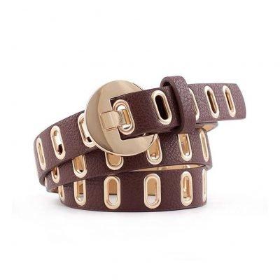 Brown belts for women