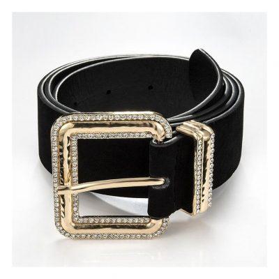 Women's suede belts