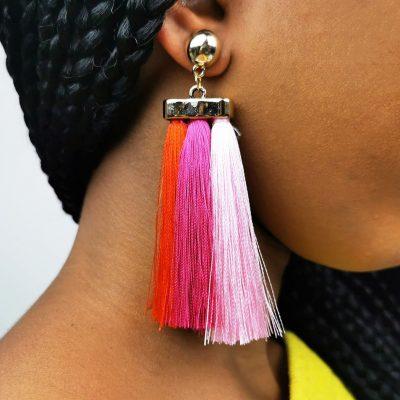 Ethnic Style Bohemian Tassel Earrings - Sojoee.com