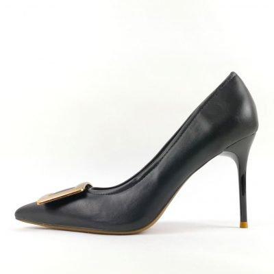 Women Black Office Shoe