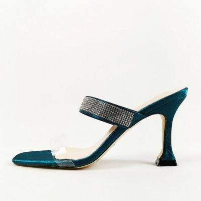 Affordable Green Party Mules for women