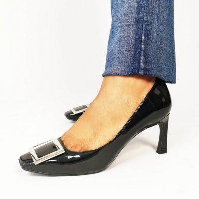 Mid Heel Womens Work Shoe