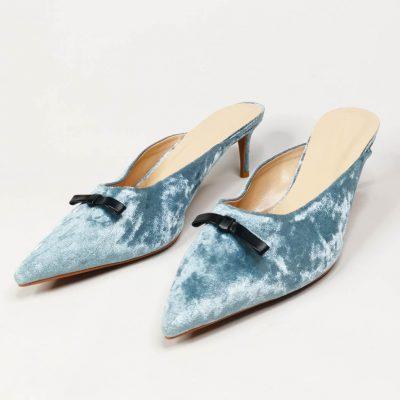 Big size womens mule shoes