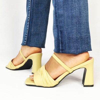 Yellow Womens Sandals
