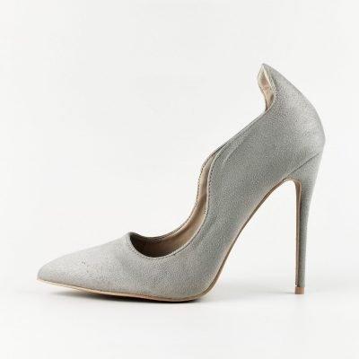 Big Size High Heel Court Shoe