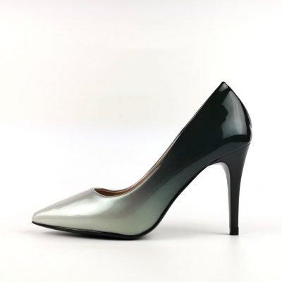 Patent court heel work shoes