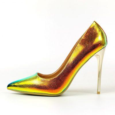 Women Skin Pumps Shoes