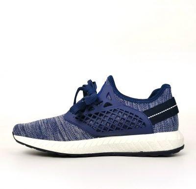 Blue Mesh Design Padded Trainers – Sojoee.com