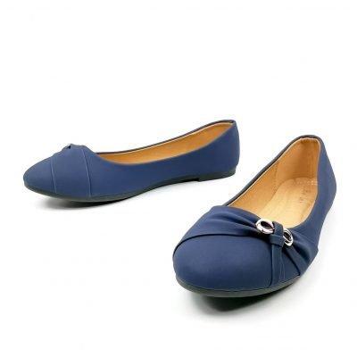 Cheap blue Office flat shoes for women