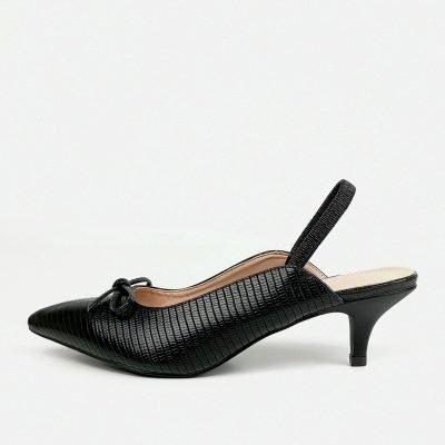 Croc Elastic Slingback Shoe - Sojoee.com