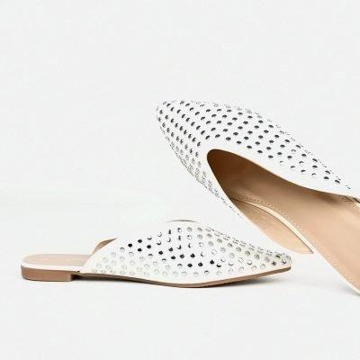 Buy women low heel slip on shoe