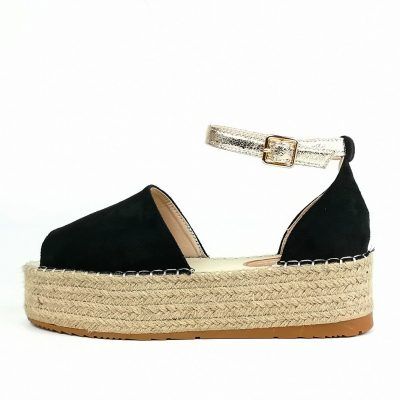 high heel womens wedges sandals with ankle strap