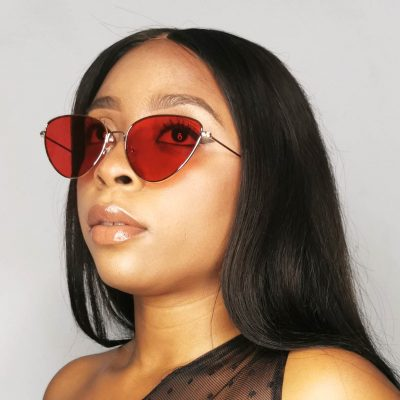 Red Vintage Fashion Sunglasses for women
