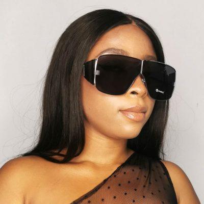 Big frame stylish women oversized sunglasses