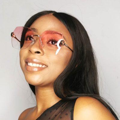 Powder Square Fashion Sunglasses for Women