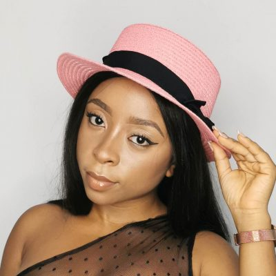 Pink hats for women