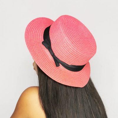 Light Red Beach hats for women