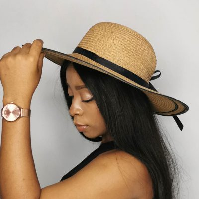 Brown Oversized Beach Hats For Women Large Straw Hat