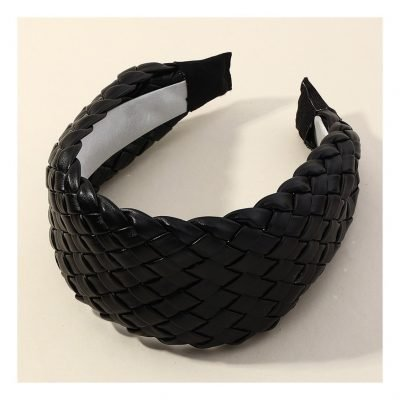 leather hair bands for women