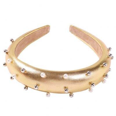 Pearl headbands for women