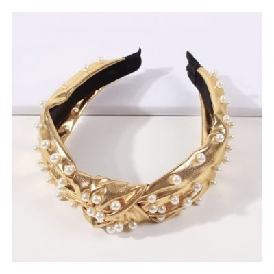 pearl hair bands for women